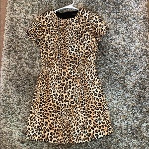 NEVER WORN Cheetah Dress